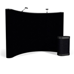 Campaign II 10ft Curved Fabric Pop Up