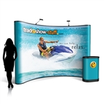 Campaign II 10ft Curved Pop Up Display