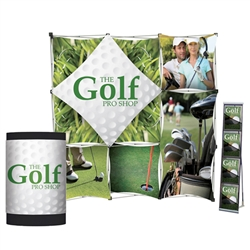 7.5ft Geometrix Pop Up Trade Show Package