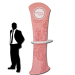 Crescent Tension Fabric Banner Stand