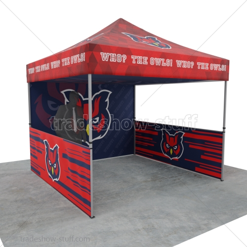Custom Event Tent 10x10 Canopy w/ Walls View Larger Photo Email ...  sc 1 st  tradeshow-stuff.com & Event Tent 10 x 10 Custom Full Printed Canopy w/ Wall Package