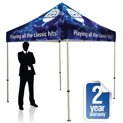 Event Pop Up Tent 8 x 8 Full Print Canopy