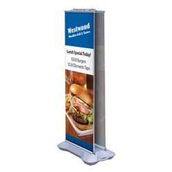 Outdoor Retractable Banner Display