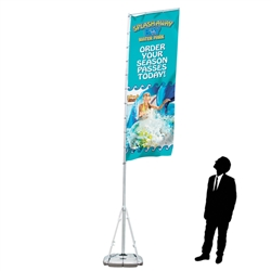 Replacement Rectangular Banner for Giant Outdoor Flag Kit