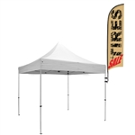 Event Tent Frame Large Flag w/ Mount