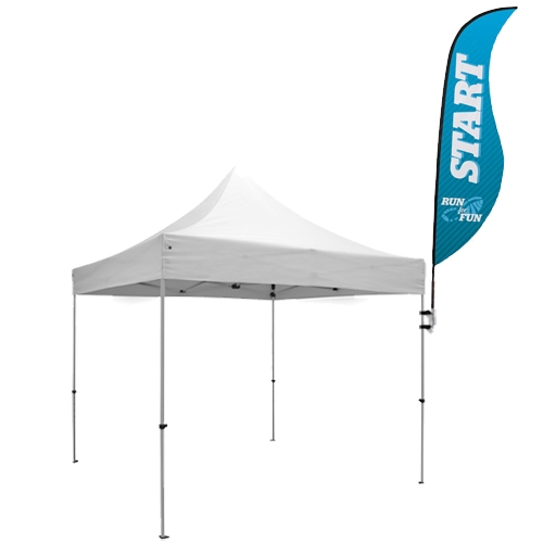View Larger Photo Email ...  sc 1 st  tradeshow-stuff.com & Sabre Tent Flag w/ Flag Mount Kit - tradeshow-stuff