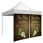 Showstopper Full Wall Zipper Entry Event Tent