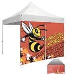 Mesh Full Wall Zipper Entry Event Tent