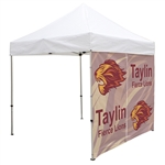 8' Showstopper Full Wall Event Tent Zipper Entry