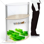 Eye Portable Modular Trade Show Counter