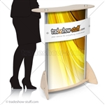 Twist Lite Podium Trade Show Counter