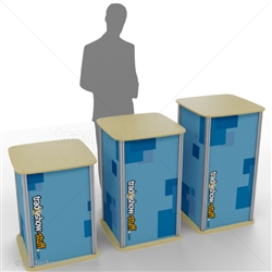 Large Square Trade Show Pedestal