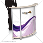 Trade Show Portable Mini Reception Desk