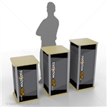 Medium Square Trade Show Pedestal