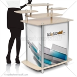 Triumph Multi-Tier Modular Trade Show Counter