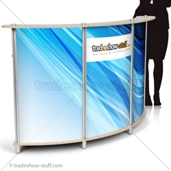 Trade Show Portable Reception Desk