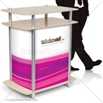Twist Rectangle Trade Show Counter