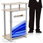 Triumph Small Rectangle Trade Show Counter
