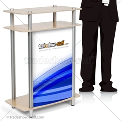 Twist Small Rectangle Trade Show Counter