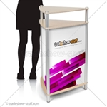 Twist Triangle Modular Trade Show Counter