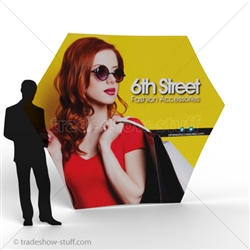 ShowFlex HexFrame Pop Up Display