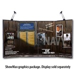 Detachable ShowMax Tabletop Graphics
