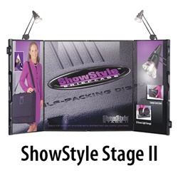 Detachable ShowStyle Stage II Tabletop Graphics