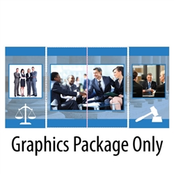 Detachable ShowStyle Briefcase Tabletop Graphics