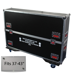 "37"" - 43"" LCD/Plasma Road Case -  Flat Panel Monitor Gator Case"