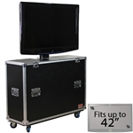 "Electric Lift Case for Up to 42"" TV"