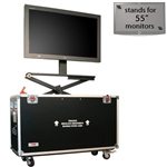 "Hydraulic Lift Case for Up to 55"" TV"