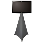 "40"" Mobile TV Stand w/ Fabric Wrap"