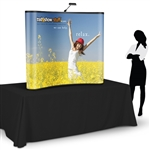 Campaign 6ft Table Top PopUp Display