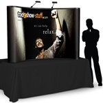 Campaign 8ft Table Top PopUp Display