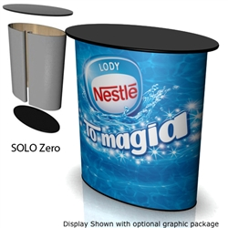 SOLO ZERO Portable Trade Show Counter
