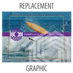 Impact! 10ft Tension Fabric Replacement Graphic