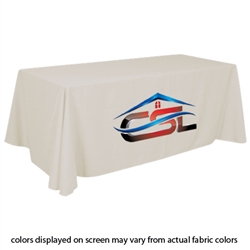 Closeout Ivory Trade Show Table Cover