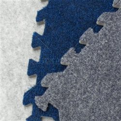 Comfort Carpet Plush Trade Show Tile Flooring