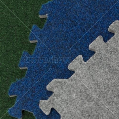 Comfort Carpet Plush Trade Show Flooring Interlocking Floors