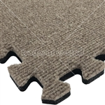 Comfort Carpet Pinstripe Tile Flooring