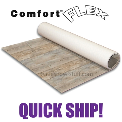 Comfort Flex Wood Rollable Flooring - Quick Ship