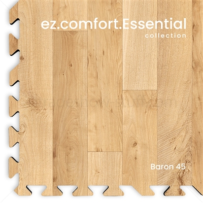 Wood Tile Exhibit Flooring