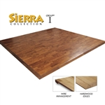 Sierra Raised Modular Hardwood Flooring