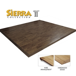 Sierra Real Hardwood Interlocking Trade Show Flooring