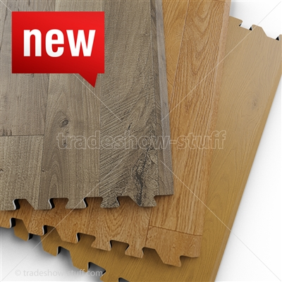 ez.comfort woods Vinyl Interlocking Flooring Sample (FREE)