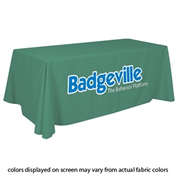 Closeout Kelly Green Trade Show Table Cover