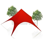 Large Canopy Event Star Tent 43 x 43