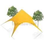 XL Event Star Canopy Tent 56 x 56