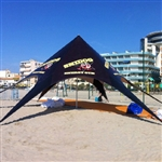 Custom Event Star Tent 30 x 30 Canopy
