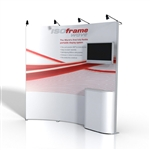 ISO Frame Wave Trade Show Display 8' Kit
